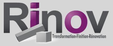 Transformation Rinov - rénovation